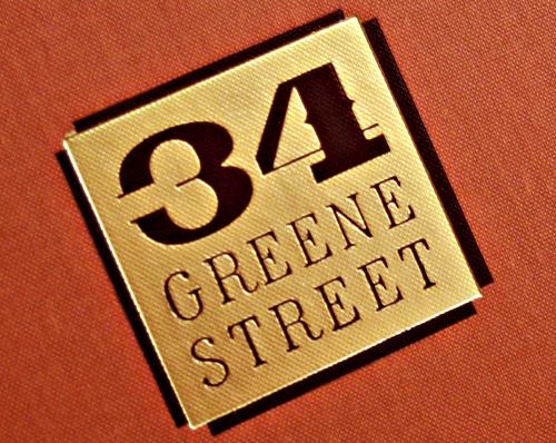34 Greene Street Branding