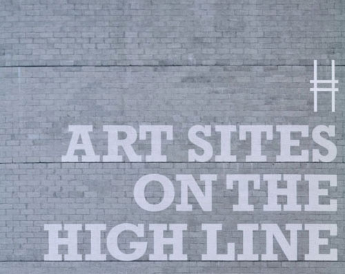 Art Sites on the Highline