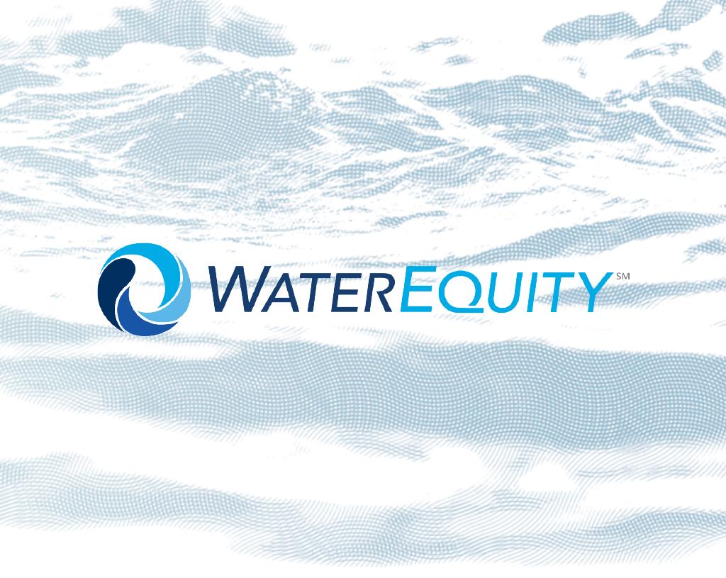 Water Equity Brand Development + Communication