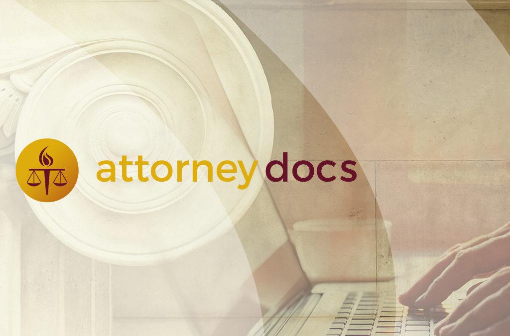 AttorneyDocs UX/UI & Visual Design